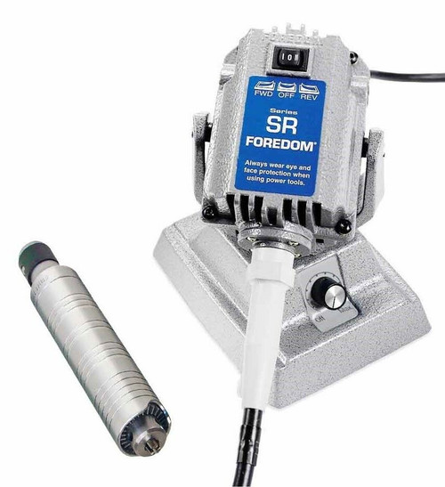 Foredom SR Flex Shaft Bench Motor with Built-in Dial Control M.SRM & H.30