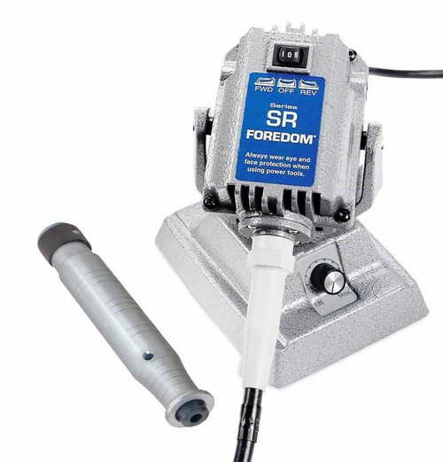 Foredom SR Flex Shaft Bench Motor with Built-in Dial Control M.SRM & H.28 HDP