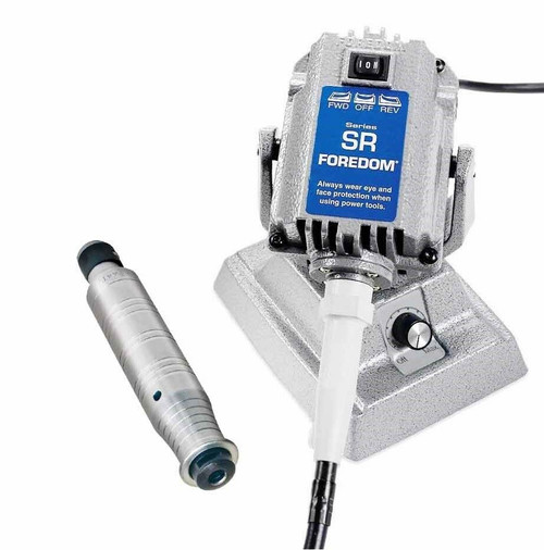 Foredom SR Flex Shaft Bench Motor with Built-in Dial Control M.SRM & H.44T HDP