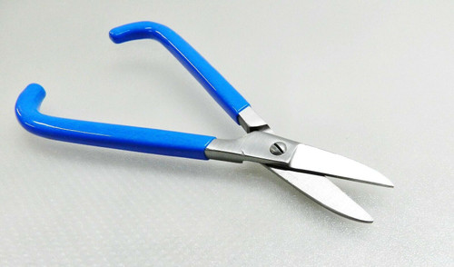 "Jewelers Shears Straight Blade 7"" PVC Handle Jewelry Making Metal Snips Scissor"