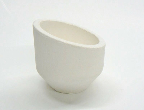 Melting Crucible High Back Large Dish Ceramic Melting Cup 24oz Capacity Italian