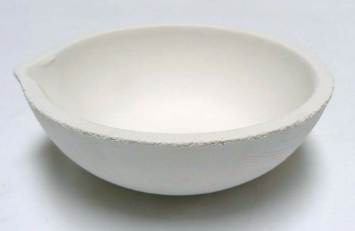 Melting and Casting Ceramic Crucible Dish 272 Gram Capacity Made in Italy