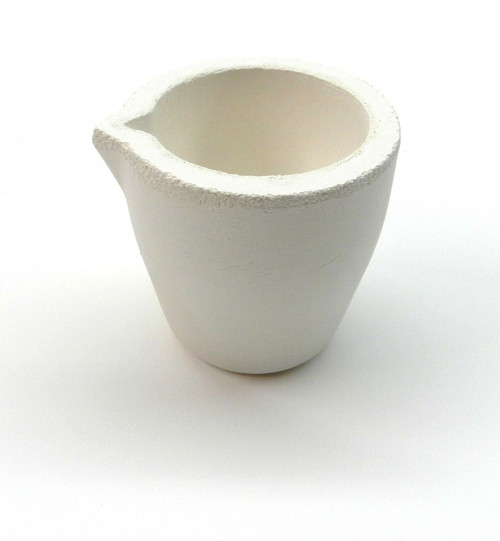 """Melting Crucible for Melting Gold & Silver Silica Cup Type """"Slip Cast"""" A-1 Italy"""