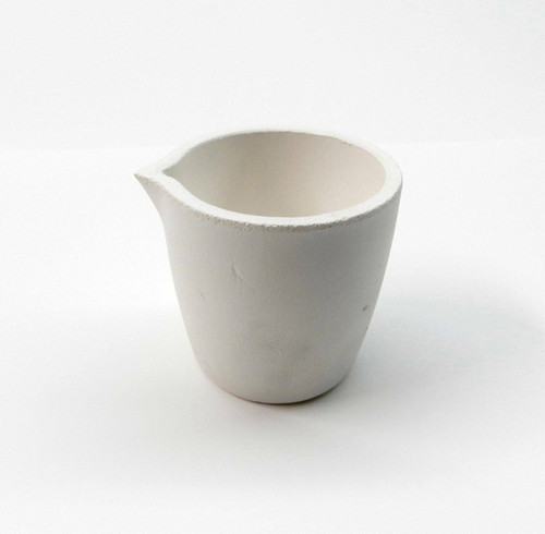 Melting Crucible Silica Cup Type for Melting Gold & Silver 1200 Gram