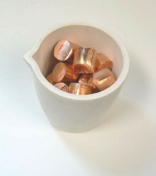 Melting Crucible Silica Cup Type  for Melting Gold & Silver 2488 Gram