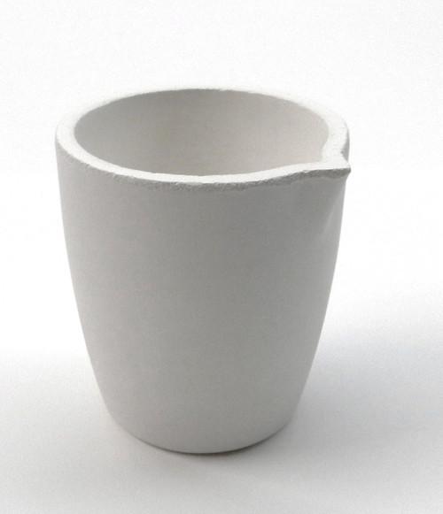 Ceramic Melting Crucible Dish Torch Melting Gold Silver Cup Capacity 80toz Italy