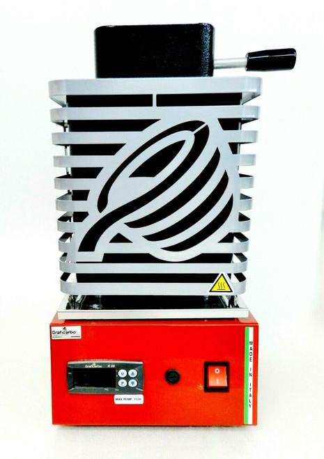 Electric Melting Furnace Digital Melter Melting 2Kg Made in Italy