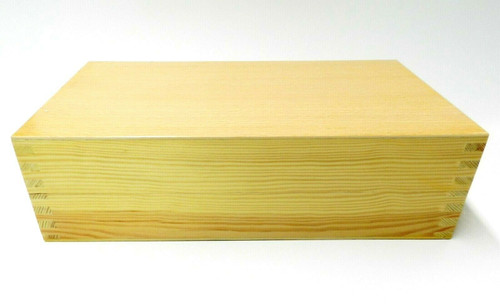 200 Hole Bur Wooden Box Organizer