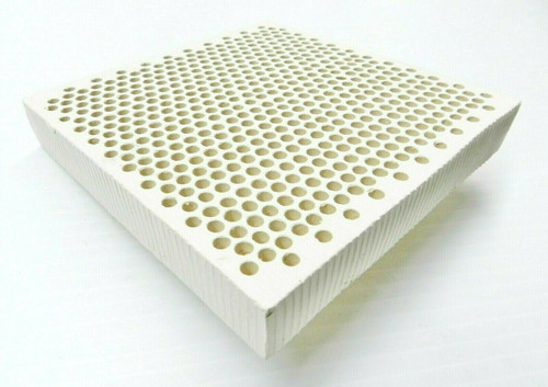 """5"""" Ceramic Honeycomb Block Soldering Plate with 4mm Holes Jewelry Heat Board"""