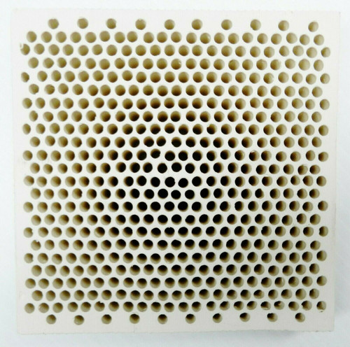 "5"" Ceramic Honeycomb Block Soldering Plate with 4mm Holes Jewelry Heat Board"
