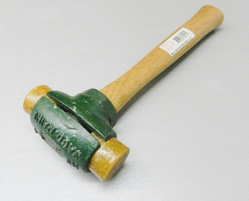 """Garland Rawhide Mallet Split Head Hammer #2 with 1-1/2"""" Faces 32 Oz. 31002"""
