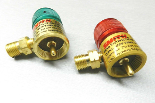 Smith Regulators for Little Torch Preset Regulator for Disposable Tanks Original