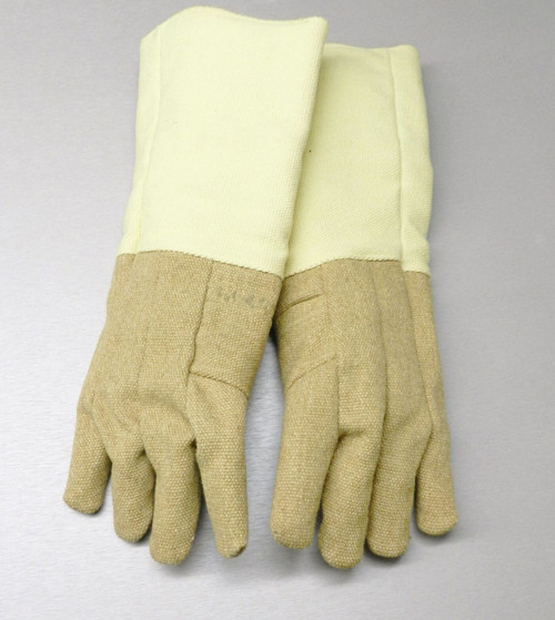 "Gloves High Temperature Protection Heat Resistant Glove PBI 18"" Pair"