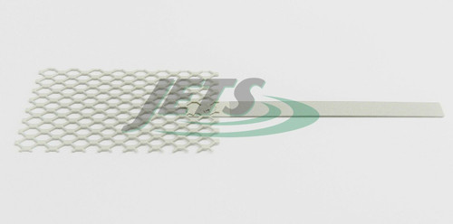"""Platinized Titanium Anode Plating Anode Jewelry Rhodium Palladium 2"""" x 4"""" Mesh"""