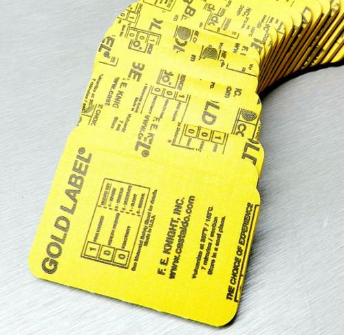 Castaldo Pre-Cut Gold Label Rubber Mold 5 Pounds