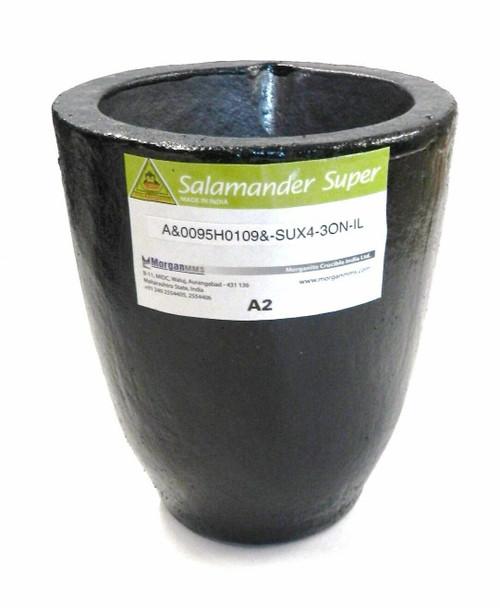 Salamander Crucible A2 Super A Clay Graphite by Morgan