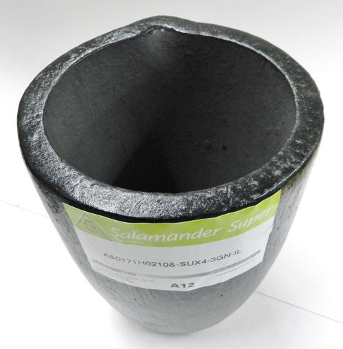 Salamander Crucible A12 Super A Clay Graphite by Morgan