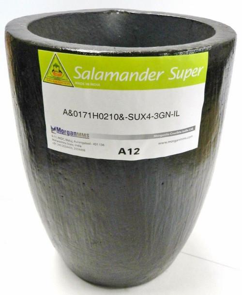 Salamander Crucible A12 Super A Clay Graphite by Morgan