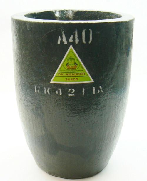 Salamander Crucible A40 Super A Clay Graphite by Morgan