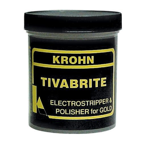 Krohn Tivabrite Electro Stripper Gold Polisher Dry Compound 1 Pound