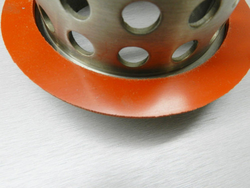 """Silicone Rubber Gasket for Vacuum Casting 4"""" Diameter ID Perforated Flasks Seal"""