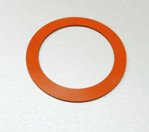 "Silicone Rubber Gasket for 5"" Vacuum Perforated Flasks Jewelry Lost Wax Castings"