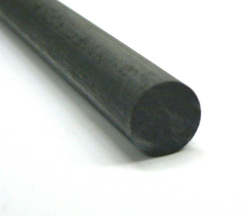 "Carbon Graphite Rod Thick 1"" x 24"" Long Mixing Stirring Rods Large Volume Stir"