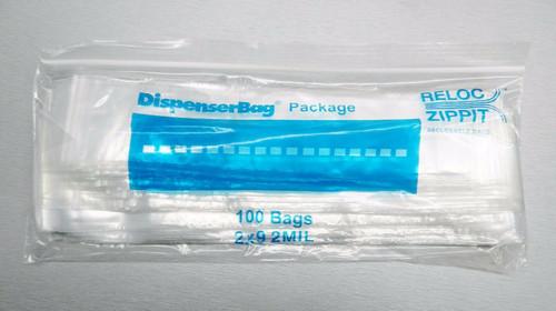 """2 Mil 2"""" x 9"""" Clear Ziplock Bags Pack of 1000"""