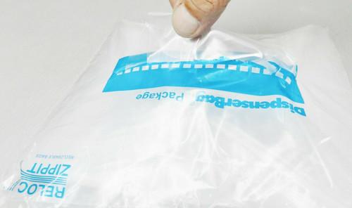"""2 Mil 4"""" x 4"""" Clear Ziplock Bags Pack of 1000"""
