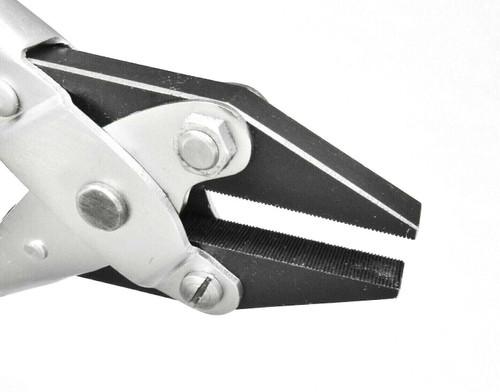 "Parallel Action Flat Nose Serrated Jaws Pliers 5-1/2"" -140mm"