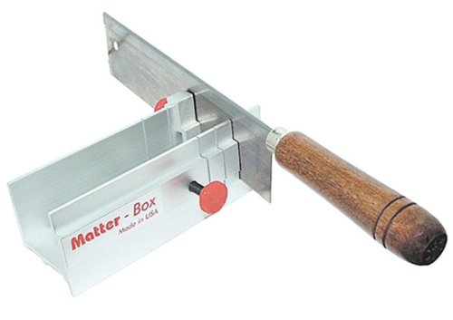 Matt Miter Box with Saw Du-Matt Matter Jig for Cutting Carving Wax Tubes Slices