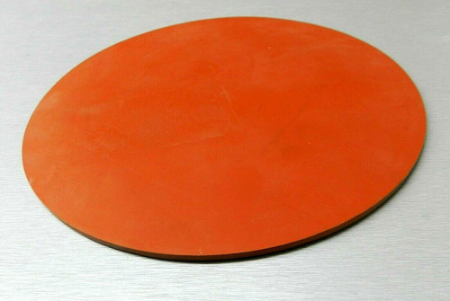 """Silicone Rubber Pad 10"""" Round Disc Heat Absorbent Gasket Jewelry Material Kitchen"""