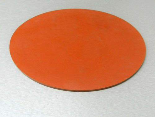"Silicone Rubber Pad 14"" Round Disc Heat Absorbent Gasket Jewelry Material Kitchen"