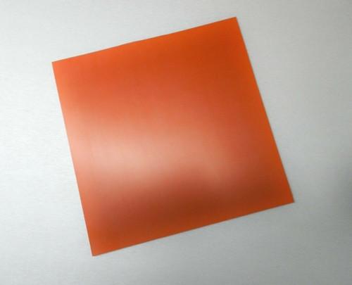 "Silicone Rubber Pad 10"" x 10"" Square 1/4"" Thick High Temperature Insulation Mat"