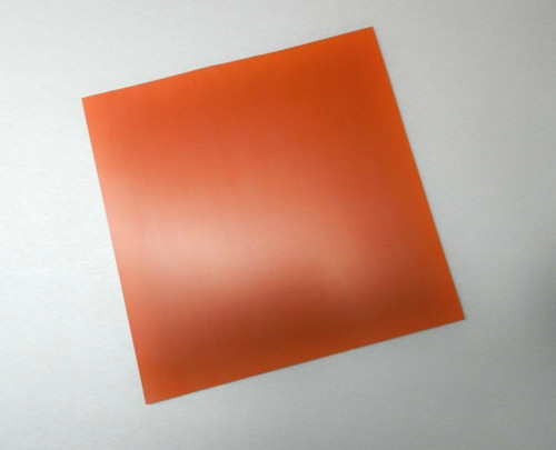 "Silicone Rubber Pad 10"" x 10"" Square 1/8"" Thick High Temperature Insulation Mat"