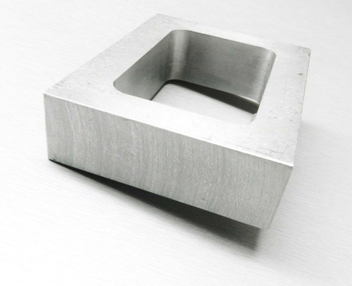 "Rubber Mold Frame 1"" Thick Pre Cut Mold Frame Machined Aluminum for Vulcanizer"