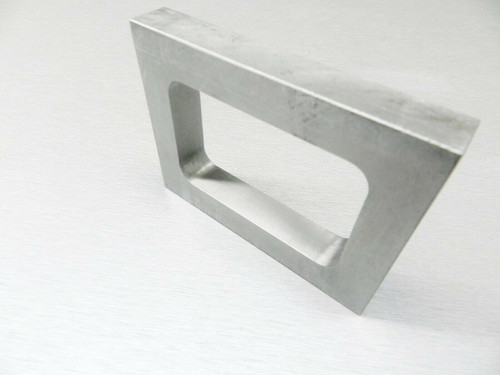"Mold Frame For Vulcanizer Single Cavity Aluminum Pre-Cut Mold Rubber 5/8"" Thick"