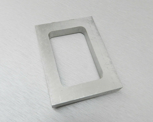 "Mold Rubber Frame Pre-Cut Size 2-7/8 x 1-7/8 x 3/8"" Jewelry Mold Making"