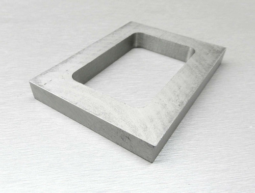 """Mold Rubber Frame Pre-Cut Size 2-7/8 x 1-7/8 x 3/8"""" Jewelry Mold Making"""
