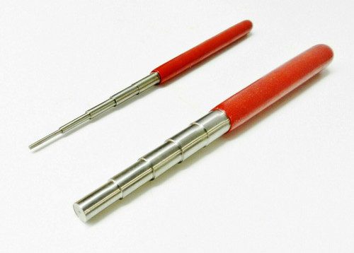 Wire Wrapping Mandrel Set of 2 Steel Mandrels Jewelry Jump Ring Loop Making Tools