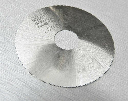 "Malco Saw Blade Jewelers Slotting Saws 2"" High Speed Circular Saw Blades 0.008"""