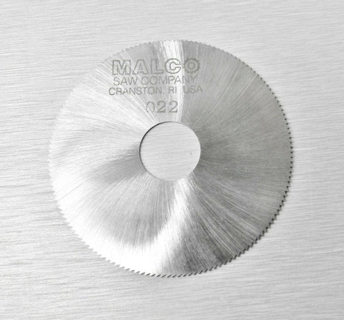 "Malco Saw Blade Jewelers Slotting Saws 2"" High Speed Circular Saw Blades 0.022"""