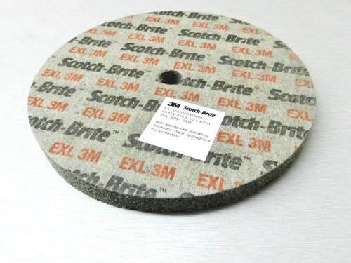 "3M Scotch-Brite EXL Unitized Wheel 6"" x 1/2"" x 1/2"" 6A MED"