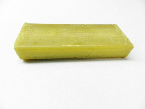 Beeswax 100% Natural 4 Oz. Bar Pure Bees Wax For Lube Saw Blades - Burs - Wire