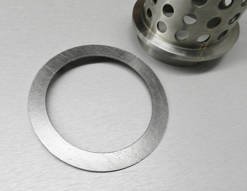 "Gasket Graphite for Vacuum Casting Perforated Flask High-Heat for 6"" Dia. Flasks"