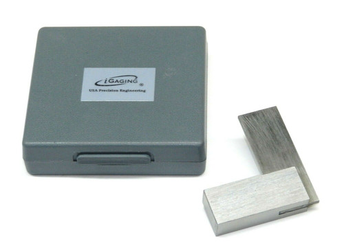 """Steel 90º Square Precision Right Angle Engineer's Layout Square Small 2"""""""