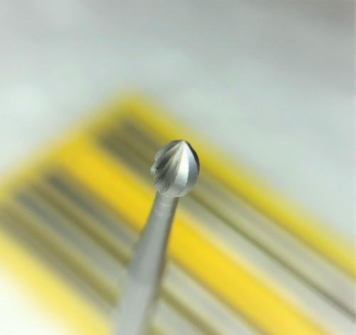 FOX Steel Bud Burs Fig 6 Jewelers Single Cut Setting Bud Bur 2.5 mm 6pcs