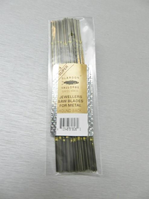 Swiss Saw Blades Vallorbe Lames De Scie #4 Jewelers Saws Blade Original 1 Gross