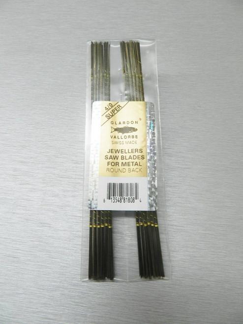 Swiss Saw Blades Vallorbe Lames De Scie #4/0 Jewelers Saws Blade Original 1gross