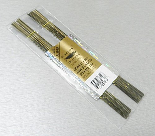 Swiss Saw Blades Vallorbe Lames De Scie #5/0 Jewelers Saws Blade Original 1gross